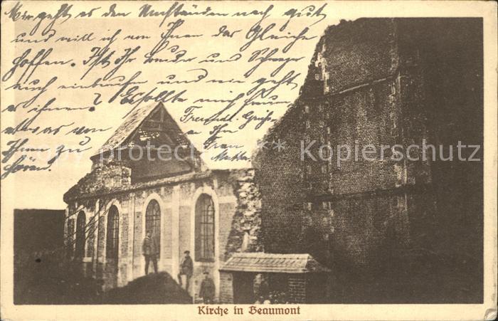 Beaumont Ardeche Kirche Kat. Beaumont