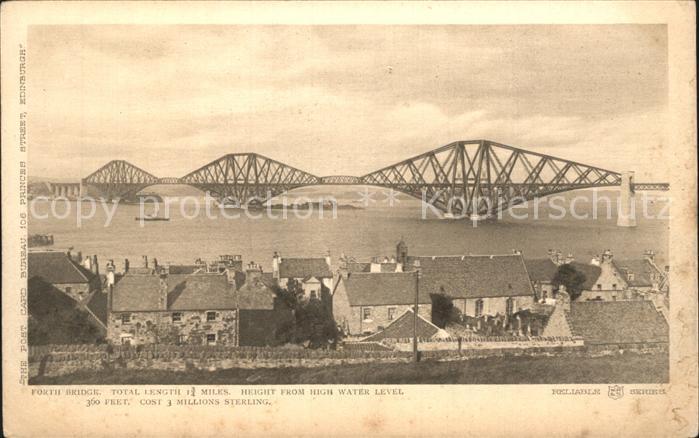 Edinburgh Forth Bridge Kat. Edinburgh
