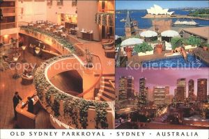 Sydney New South Wales Old Sydney Parkroyal Hotel Restaurant Downtown Opera House Kat. Sydney