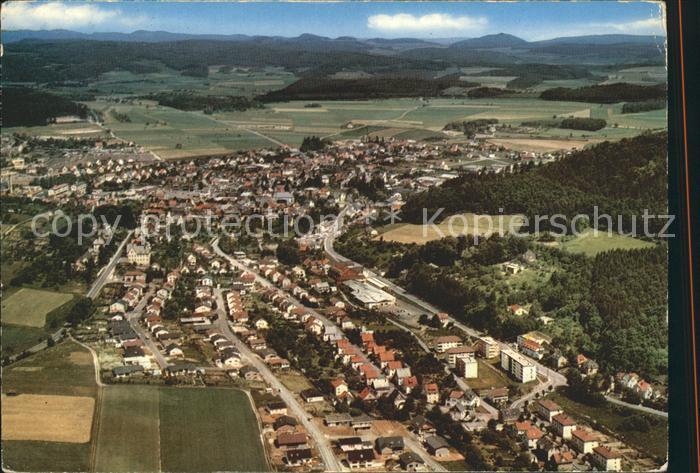 Gladenbach Luft und Kneippkurort Fliegeraufnahme Kat. Gladenbach