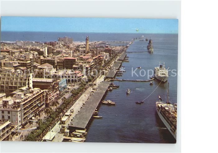 Port Said General view of Port Said and its harbor Kat. Port Said