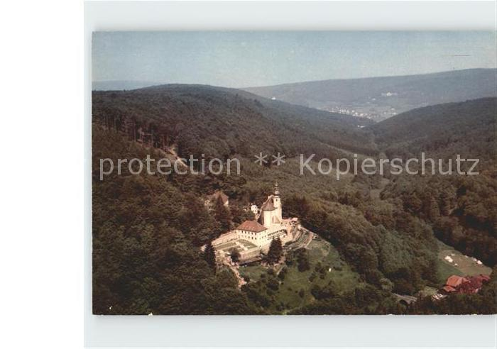 Lohr Main Kloster Maria Buchen Fliegeraufnahme Kat. Lohr a.Main