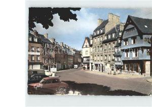 Guingamp Maisons anciennes Place du Centre Kat. Guingamp