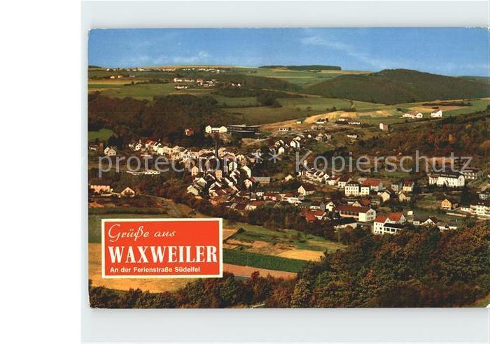 Waxweiler Panorama Kat. Waxweiler