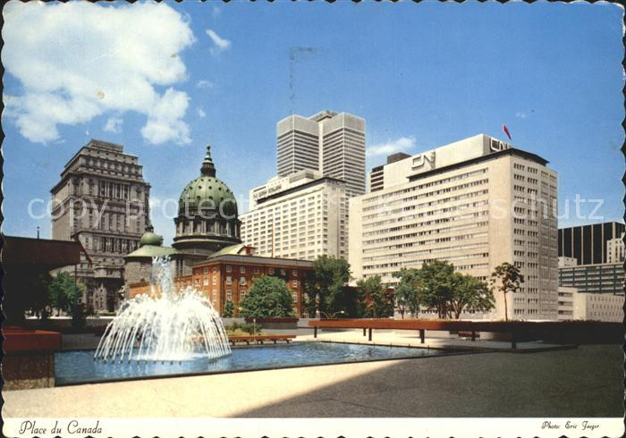 Montreal Quebec Place du Canada Kat. Montreal