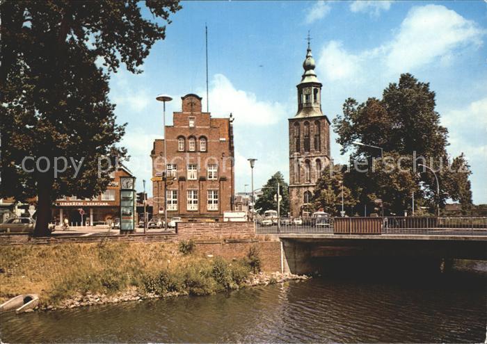 Nordhorn Kirchenpartie Kat. Nordhorn