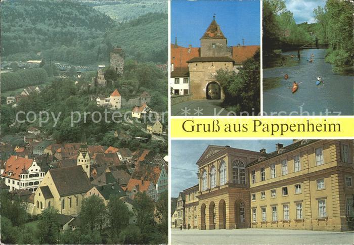 Pappenheim Mittelfranken  Kat. Pappenheim