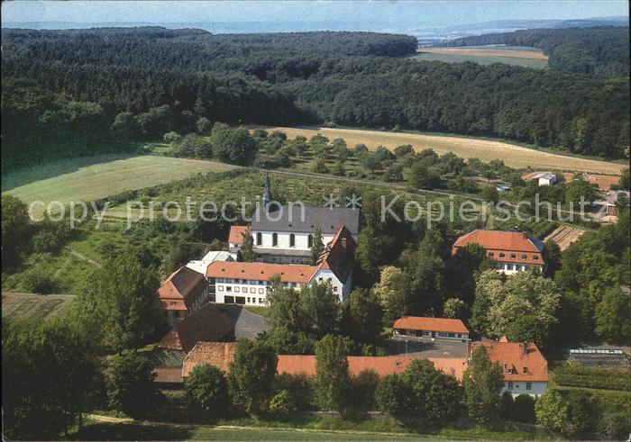 Altenstadt Hessen Fliegeraufnahme Kloster Engelthal Kat. Altenstadt