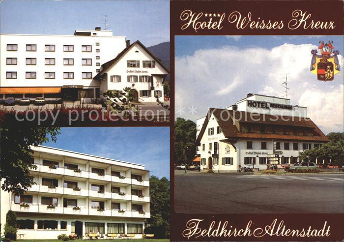 Altenstadt Waldnaab Feldkirch Hotel Weisses Kreuz Kat. Altenstadt a.d.Waldnaab