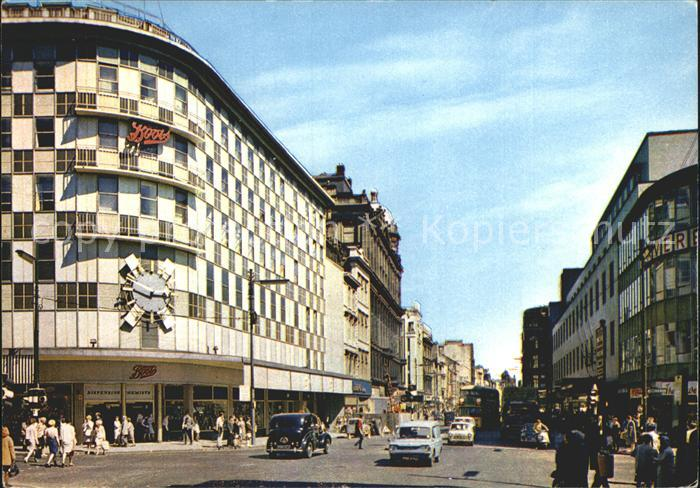 Glasgow Argyle Street at Boots Kat. Glasgow City