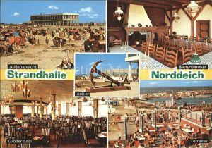 Norddeich Dithmarschen Strandhalle  Kat. Norddeich