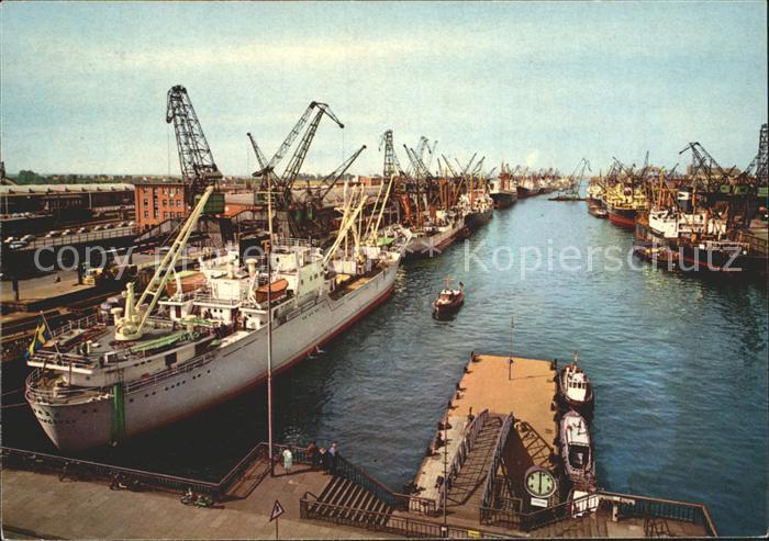 Bremen Hafen Kat. Bremen
