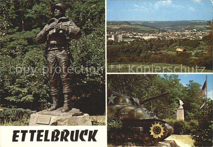 Ettelbruck Monument Patton  Kat. Ettelbruck
