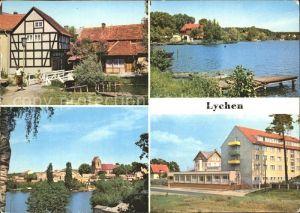 Lychen Malerwinkel Oberpfuhlsee Stadtsee Kat. Lychen