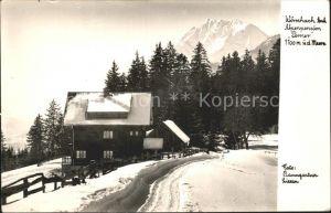 Woerschach Alpenpension Perner Kat. Woerschach