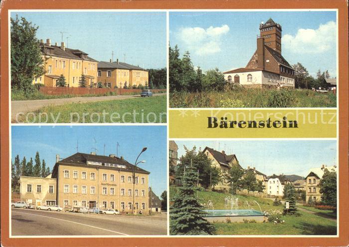 Baerenstein Annaberg Buchholz Ferienheim Berghotel Baerenstein  Kat. Baerenstein