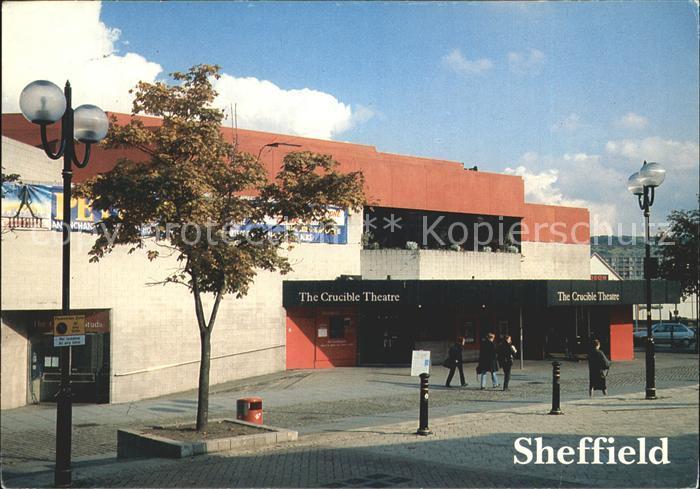 Sheffield Crucible Theatre Kat. Sheffield