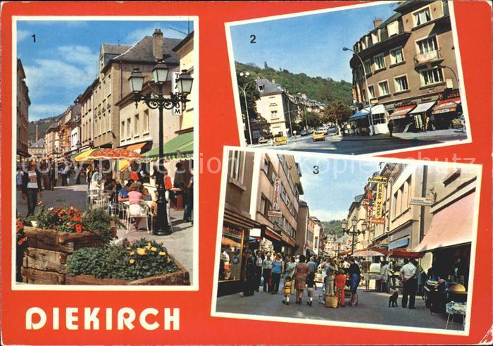 Diekirch Grand Rue Esplanade  Kat. Diekirch