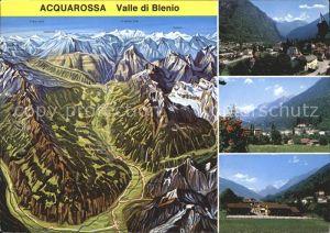 Acquarossa Valle di Blenio Alpenpanorama Kat. Acquarossa