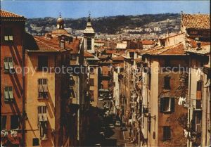 Nice Alpes Maritimes Le vieux Nice Rue Rossetti Cathedrale Sainte Reparate Kat. Nice