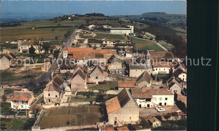 Taize Saone et Loire Village avec Eglise romane Eglise de la Reconciliation vue aerienne Kat. Taize
