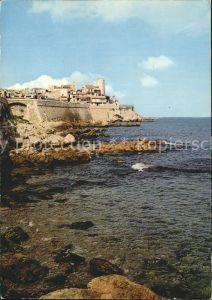 Antibes Alpes Maritimes La vieille Ville et les Remparts Kueste Kat. Antibes