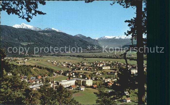Telfs Tirol Panorama Blick in das Unterinntal Alpen / Innsbruck /Innsbruck Land
