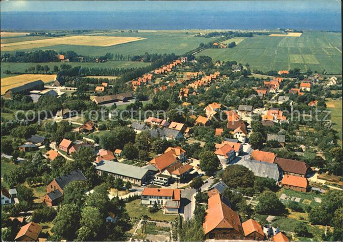 Tossens Nordseebad Fliegeraufnahme Kat. Butjadingen