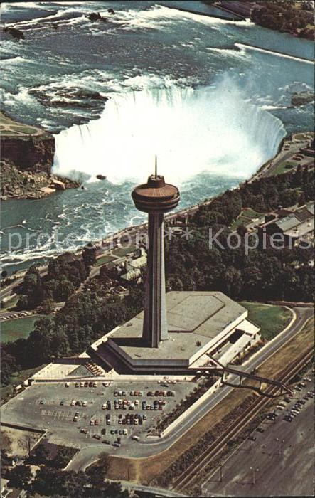 Niagara Falls Ontario Skylon Park Skylon Tower Pavilion  Kat. Niagara Falls Canada