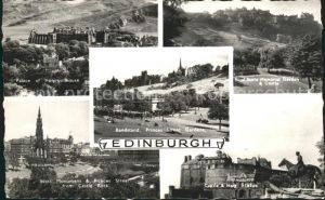 Edinburgh Royal Scots Memorial Garden Castle Bandstand Princes Street  Kat. Edinburgh