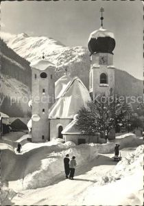 St Anton Arlberg Kirche  Kat. St. Anton am Arlberg