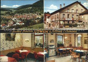Weilbach Unterfranken Gasthof Pension Cafe Zum Loewen Kat. Weilbach