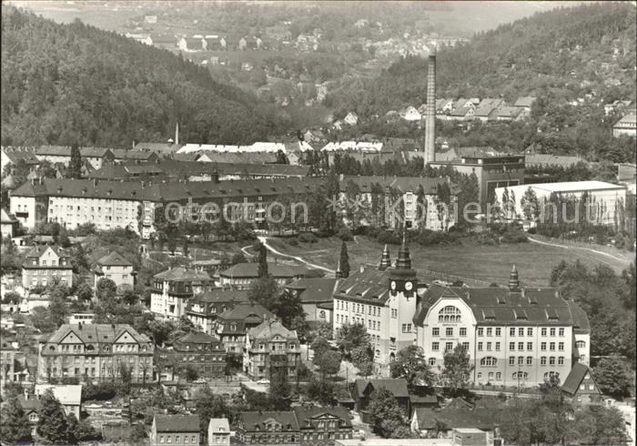 Aue Erzgebirge Blick vom Heidelberg Kat. Aue