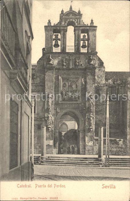 Sevilla Andalucia Catedral Puerta del Pardon Kat. Sevilla