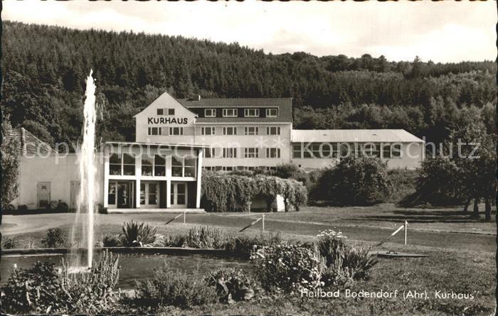 Bad Bodendorf Kurhaus Kat Sinzig Nr Kg69824 Oldthing