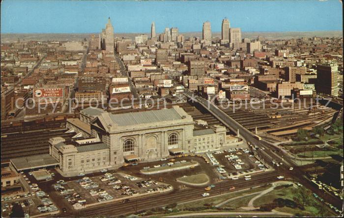Kansas City Missouri Skyline Kat. Kansas City