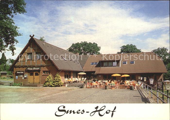 Undeloh Restaurant Cafe Pension Smes Hof Kat. Undeloh