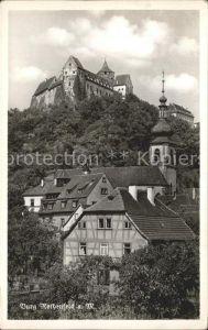 Rothenfels Unterfranken mit Burg Rothenfels Kat. Rothenfels
