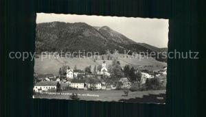 Schwarzau Gebirge mit Obersberg Kat. Schwarzau im Gebirge
