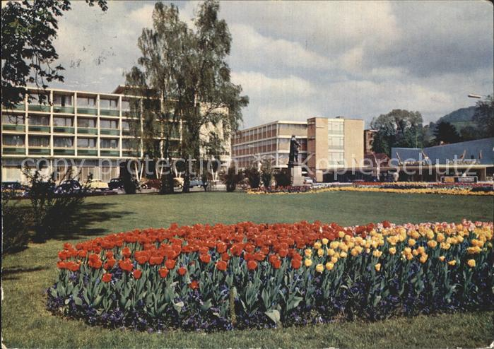Reutlingen Friedrich List Platz mit Parkhotel Kat. Reutlingen