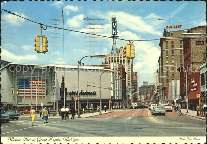 Grand Rapids Michigan Monroe Avenue Kat. Grand Rapids