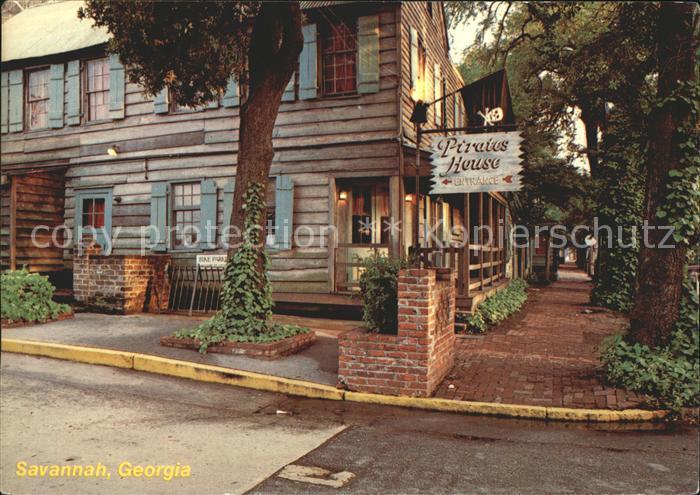 Savannah Georgia Pirates House Kat. Savannah