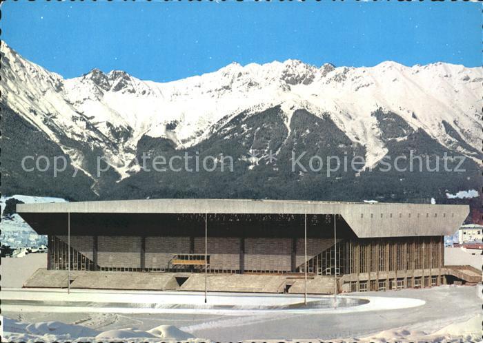 Innsbruck Olympia Eisstadion Tirol Kat. Innsbruck