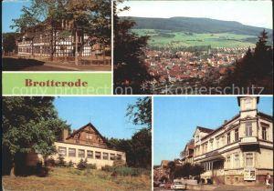 Brotterode Dr. Theodor Neubauer Oberschule Grossen Inselsberg Klubhaus  Kat. Brotterode