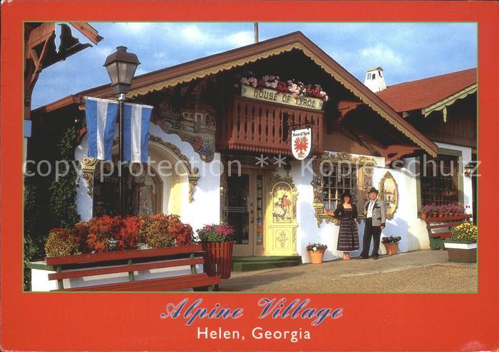 Helen Georgia Alpine Village House of Tyrol  Kat. Helen
