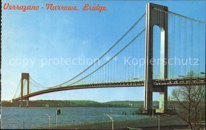 Brooklyn New York Verrazano Narrows Bridge Staten Island Kat. Brooklyn
