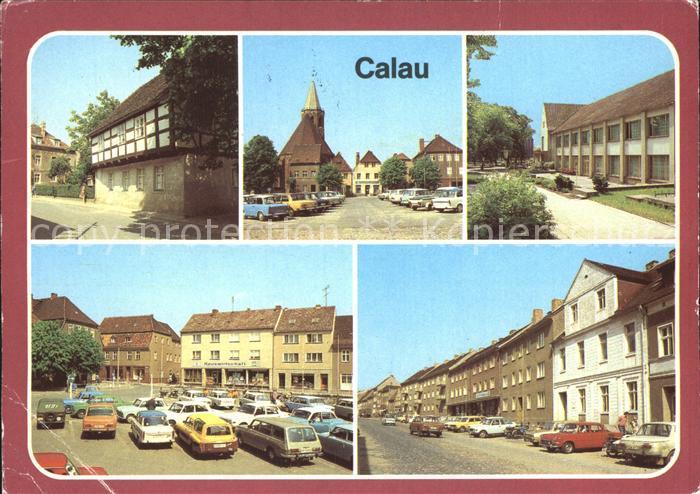 Calau Heimatmuseum Platz des Friedens Haus der Gewerkschaften Cottbuser Strasse Kat. Calau