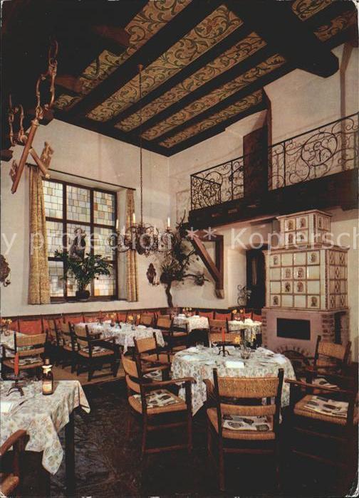 Walporzheim Weinkirche Historisches Weinhaus Sanct Peter Restaurant Kat. Bad Neuenahr Ahrweiler