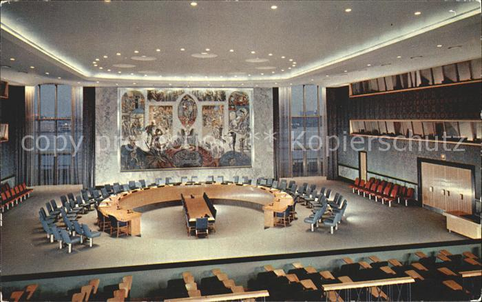 New York City United Nations Security Council Chamber / New York /