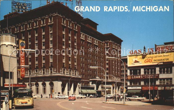 Grand Rapids Michigan Campau Square Kat. Grand Rapids